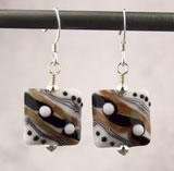 Stripes and Dots Earrings